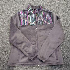 💥 NWOT Women's Fila zip-up jacket size L
